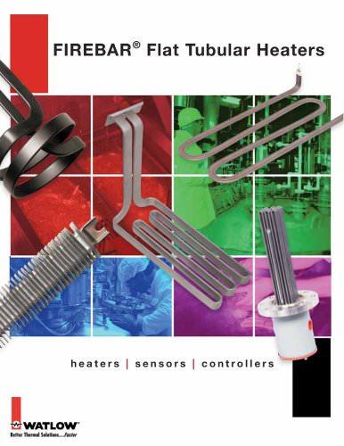 fiberbar flat tubular heater