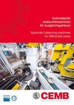 Automatic balancing machines for differential cases