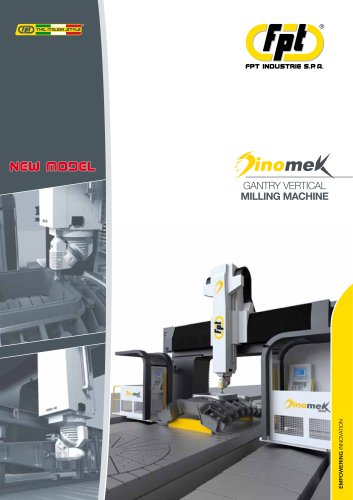 Dinomek GANTRY VERTICAL MILLING MACHINE