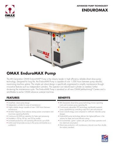 EnduroMAX Pump