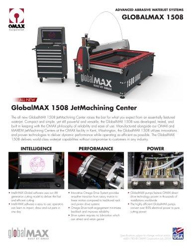 GlobalMAX 1508 JetMachining Center