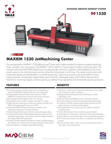 MAXIEM 1530 JetMachining Center