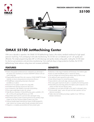 OMAX® 55100 JetMachining® Center