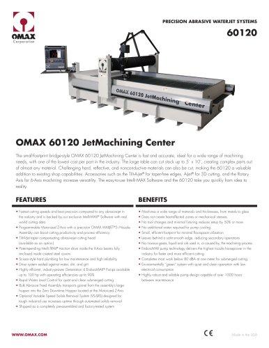 OMAX® 60120 JetMachining® Center