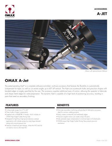 OMAX A-Jet