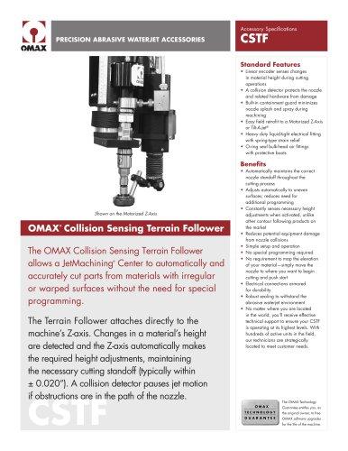 OMAX®  Collision Sensing Terrain Follower