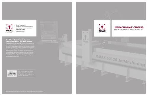 OMAX Corporate brochure