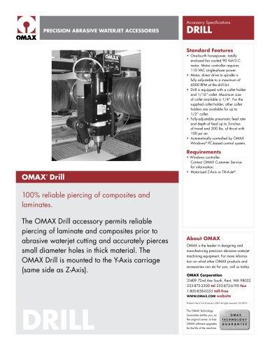 OMAX Drill