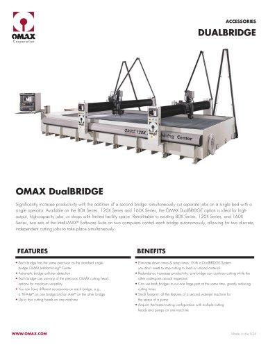 OMAX DualBRIDGE