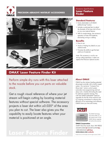 OMAX® Laser Feature Finder Kit