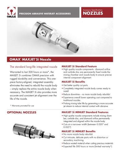OMAX® MAXJET® 5i Nozzle