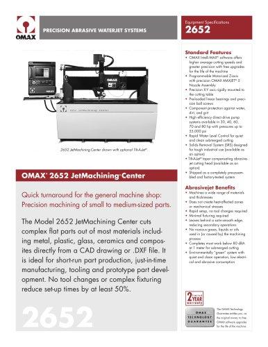 OMAX Model 2652