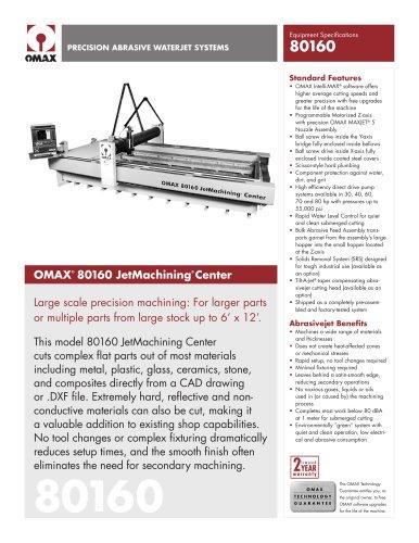 OMAX Model 80160