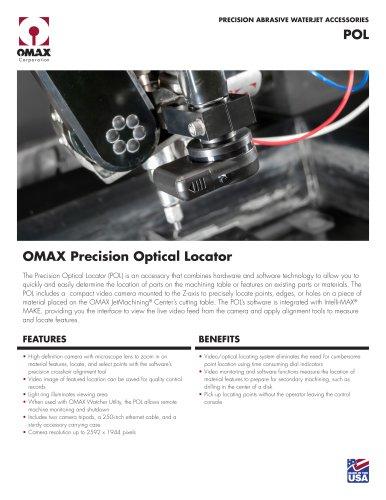 OMAX Precision Optical Locator