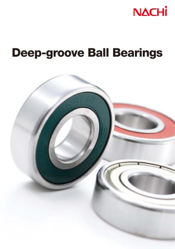 Deep-groove Ball Bearings