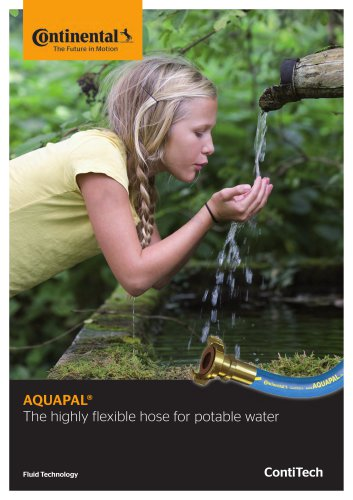 AQUAPAL® The highly flexible hose for potable water IFS1624