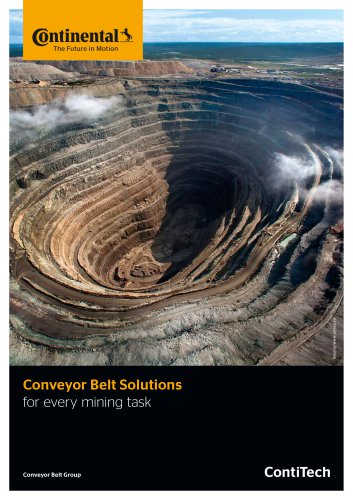 Conveyor Belt Solutions