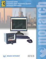 Data Chart 6000 Paperless Data Acquisition System Brochure