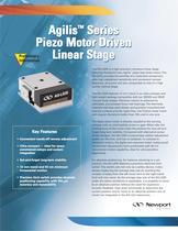 Agilis™ Series Piezo Motor Driven Preliminary Linear Stage