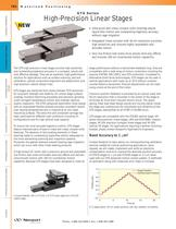GTS Series High-precision linear stages