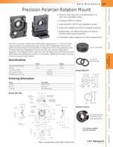 Tip/Tilt Polarizer Rotation Mount