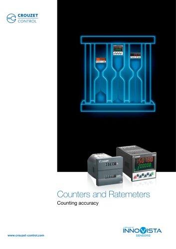 Counters and Ratemeters Crouzet