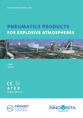 PNEUMATICS PRODUCTS FOR EXPLOSIVE ATMOSPHERES
