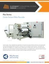 Flex Series Center Surface Slitter Rewinder