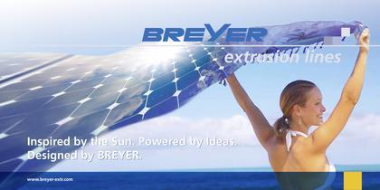 BREYER extrusion line for encapsulation film