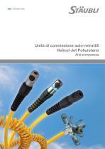 Unità di connessione auto-retrattili Helicol-Jet Poliuretano Aria compressa