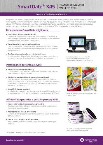 SmartDate® X45