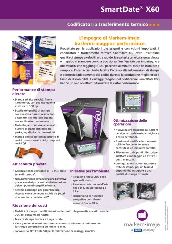 SmartDate® X60