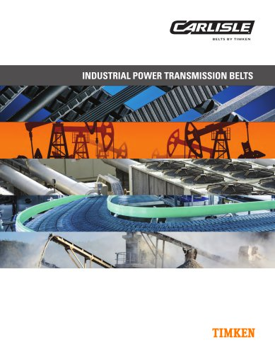 INDUSTRIAL POWER TRANSMISSION BELTS