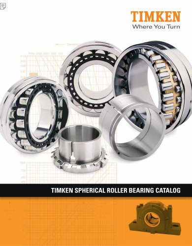 Spherical Roller Bearing Catalog