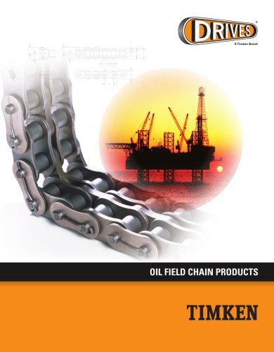Timken Drives Oil Field Chain Catalog