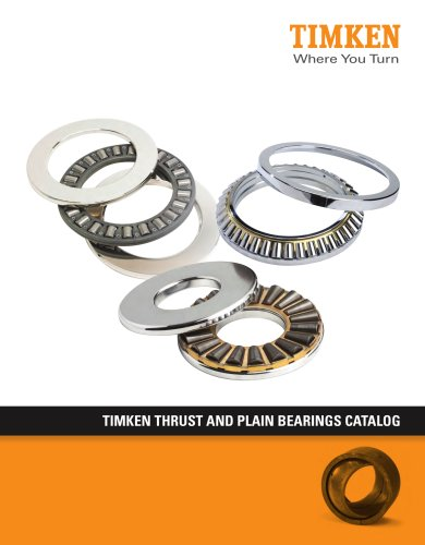Timken Thrust & Plain Bearings