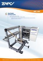 Unfolding machine OPF 1000