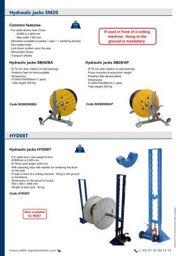 Hydraulic jacks SM20 / HYD08T