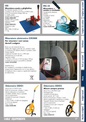 Misuratore elettronico CM3000