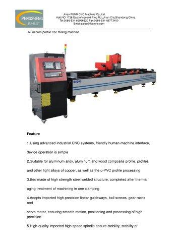 aluminum profile cnc milling machine