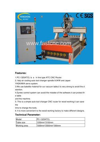 ATC CNC ROUTER PC-1325ATCL