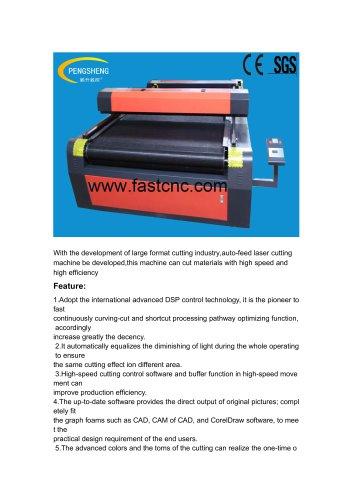 Auto-feed laser cutting machine