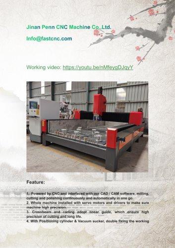 cnc edge grinding machine