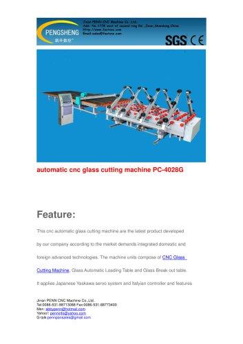 PENN CNC Automatic Glass Cutting Machine for glass cutting