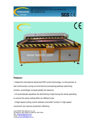 PENN PC-1318L laser cutting machine for wood