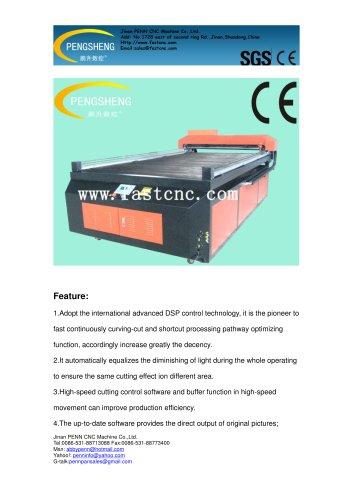 PENN PC-1325L CO2 laser cutting machine for acrylic
