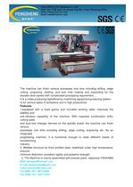 PENN PC-1325MCDS CNC machining centre for woodworking