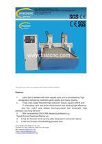PENN PC-1325SS-V multi-head stone cnc router for stone,aluminum