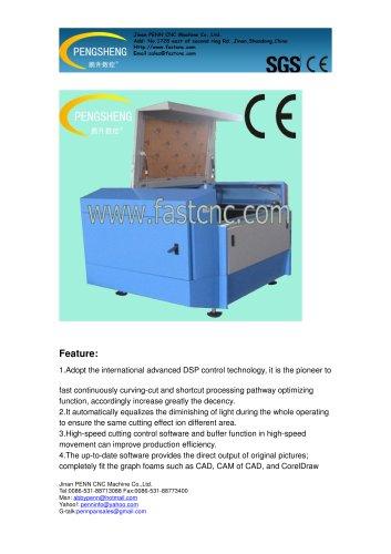 PENN PC-1410L cnc laser cutting machine for acrylic cutting