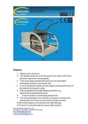 PENN PC-3030 benchtop cnc engraving machine for hobby